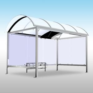 abri v lo et moto forme d me. Black Bedroom Furniture Sets. Home Design Ideas
